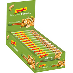 PowerBar Natural Protein Bar Sacoche 24x40g, Salty Peanut Crunch (Vegan)